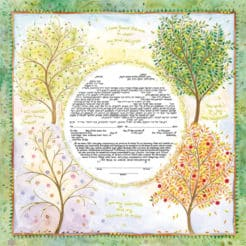 Mickie Caspi - Seasons of Joy Ketubah
