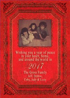 Sepia Holiday Card