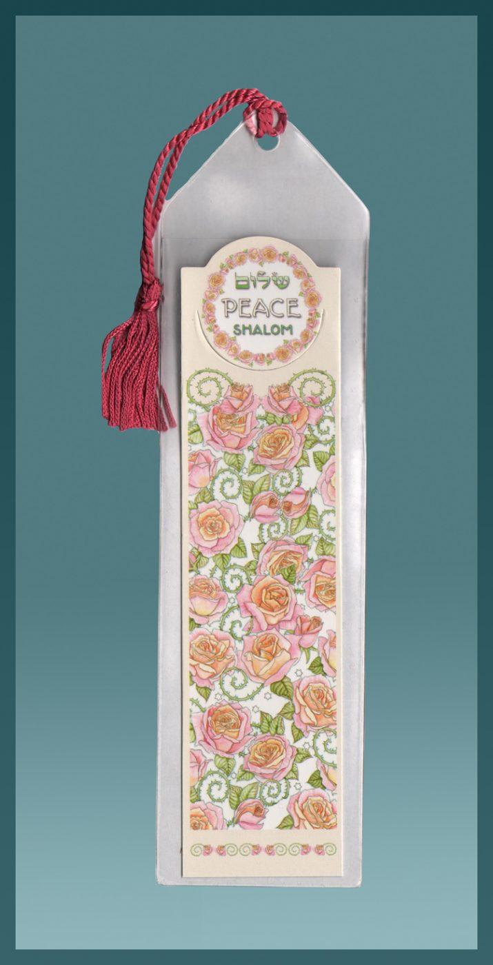 Shalom Peace Bookmark