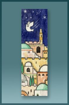 Jerusalem Car Mezuzah