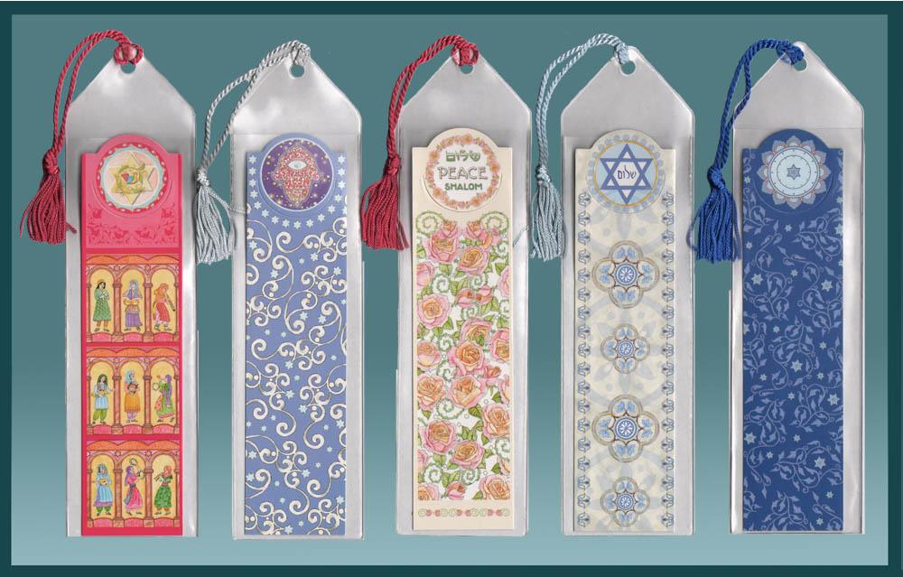 Jewish Bookmark Variety Pack by Mickie Caspi