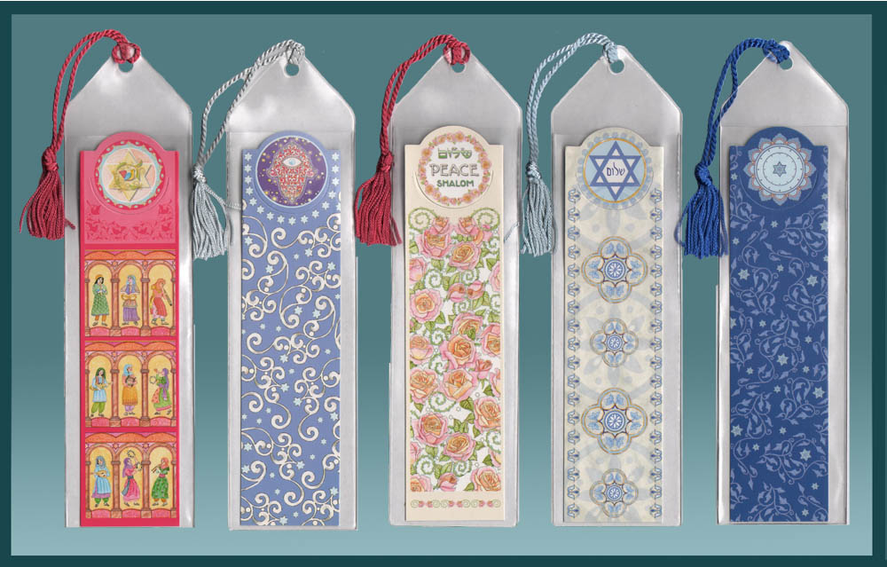 Jewish Bookmark Variety Pack by Mickie Caspi