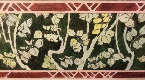 05-2 Rose Garden Ketubah by Mickie Caspi