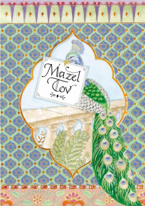mazel tov gift tag