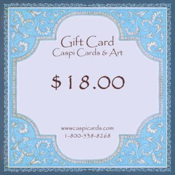 $18 Gift Card