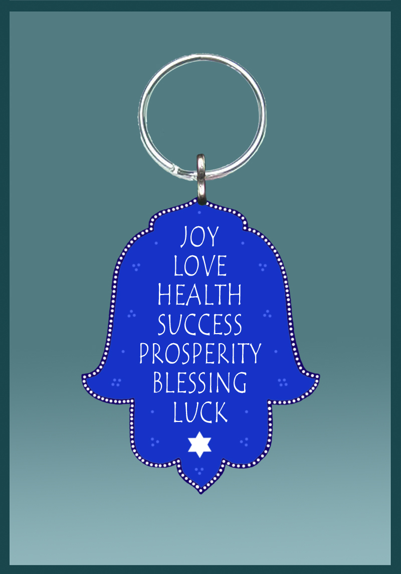 Seven Blessings Key Chain