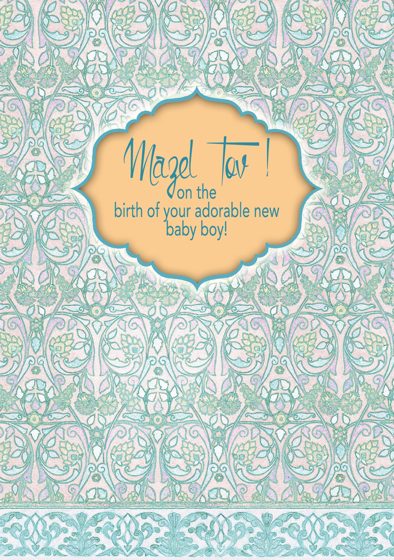 New Baby - Caspi Cards & Art