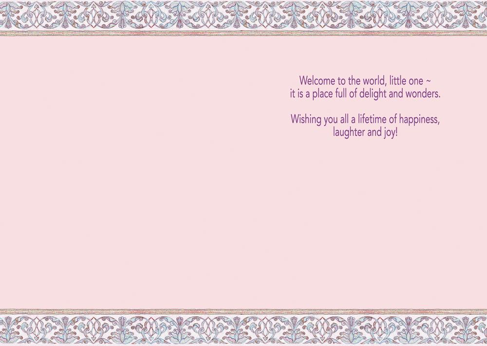Baby Girl Card Caspi Cards Amp Art