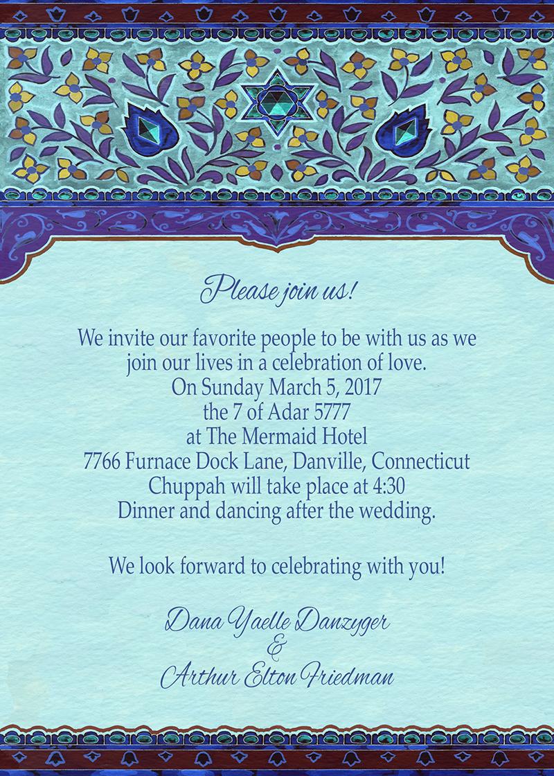 Diamond Wedding Invitation by Mickie