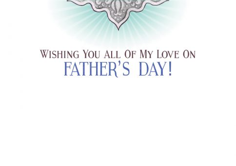 Fathers Day Jewish Greeting Card