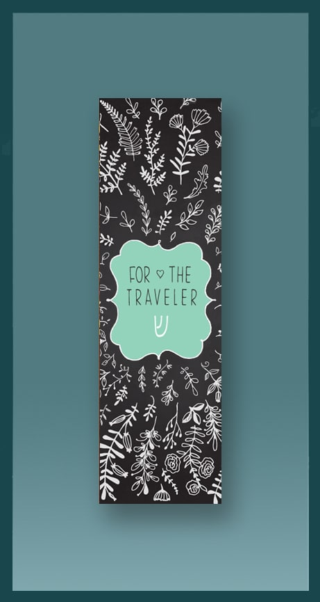 Traveler Car Mezuzah by Mickie Caspi