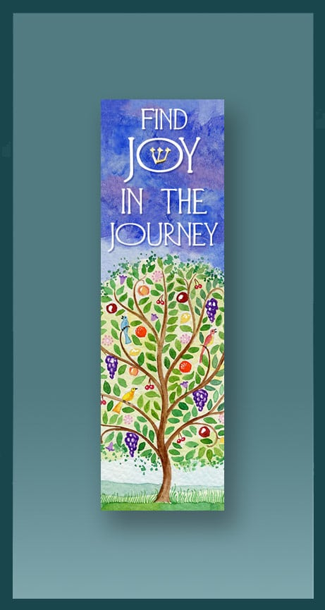 Tree Journey Car Mezuzah