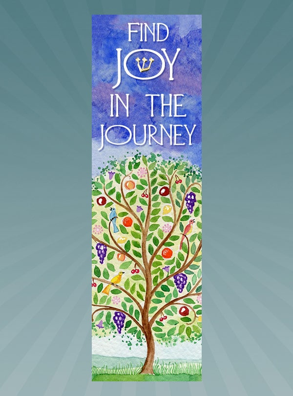 CM177 Tree Journey Car Mezuzah