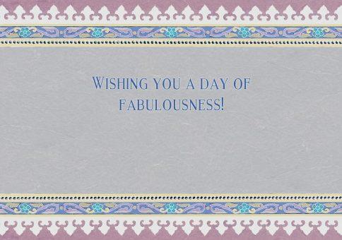 Happy Birthday Jewish Greeting Card by Mickie Caspi