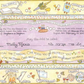 Baby Naming Certificates