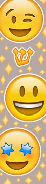 MZ146 Smiley Diamonds Mezuzah by Mickie Caspi