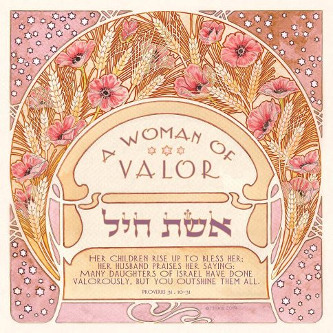 Woman of Valor Summer Wheat by Mickie PINK