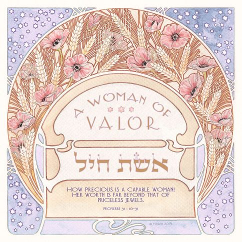 Woman of Valor Summer Wheat by Mickie MAUVE
