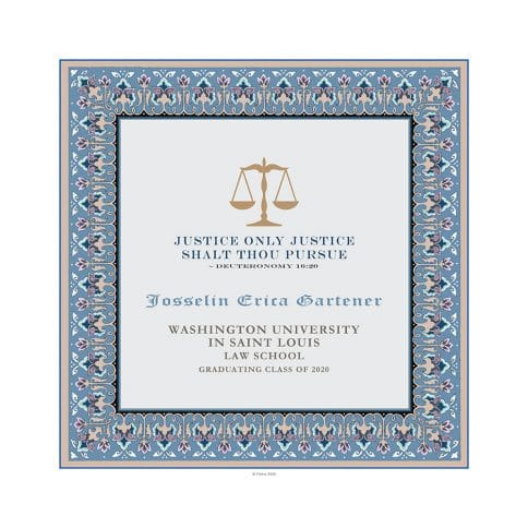 Personalized Lawyers Creed Graduate Diploma Ocean